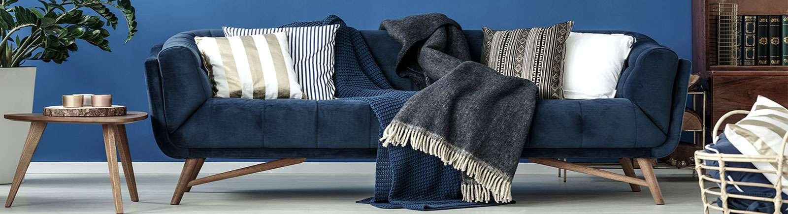 Κουβέρτες Καναπέ