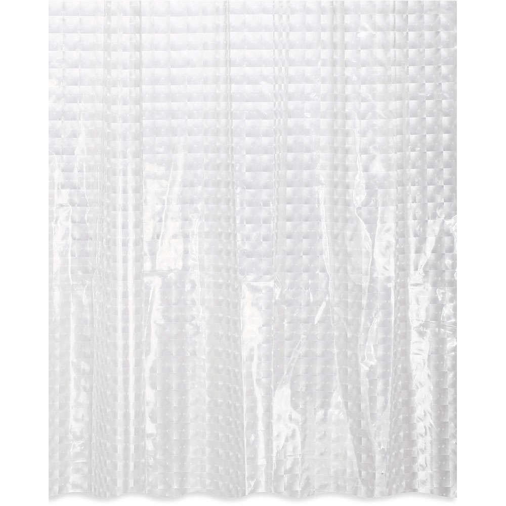 Κουρτίνα Μπάνιου Blur Eva 02-6839 Διάφανη Estia Φάρδος 180cm