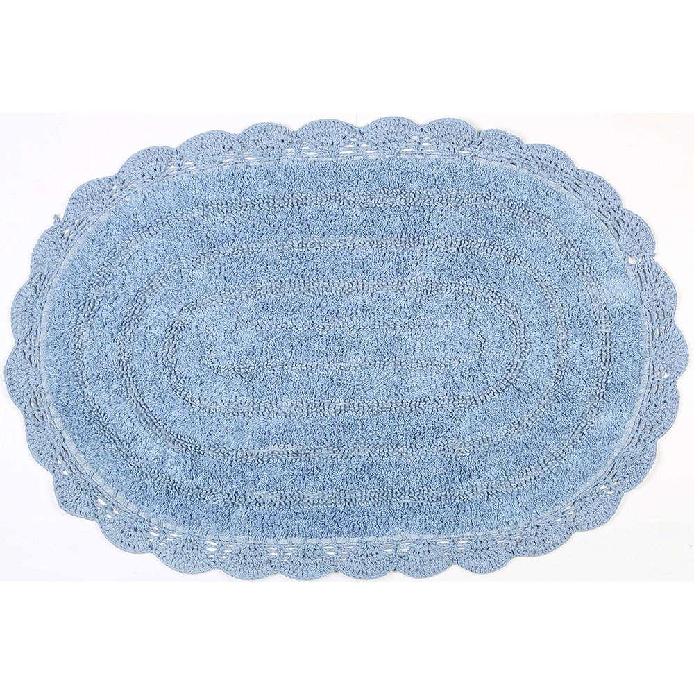 Ταπέτο Μπάνιου Cloud 02-6914 Μπλε Estia Large