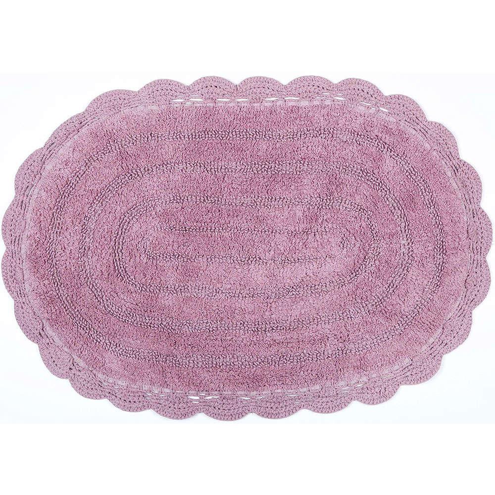 Ταπέτο Μπάνιου Cloud 02-6921 Ροζ Estia Large