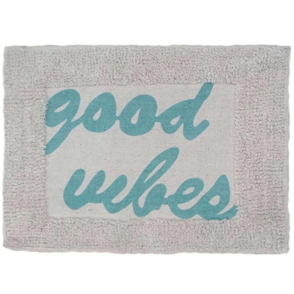 Ταπέτο Μπάνιου Good Vibes 02-7287 Μπλε Estia Small