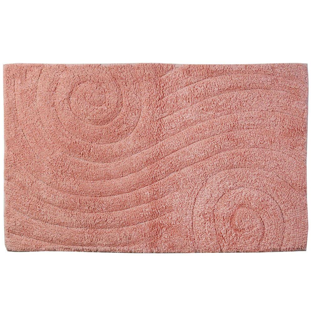 Ταπέτο Μπάνιου Maze 02-4286 Ροζ Estia Large
