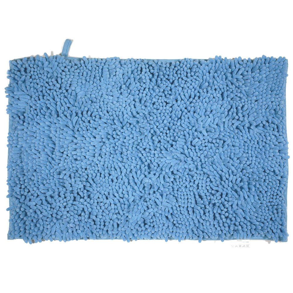 Ταπέτο Μπάνιου Velvet 02-7362 Μπλε Estia Large