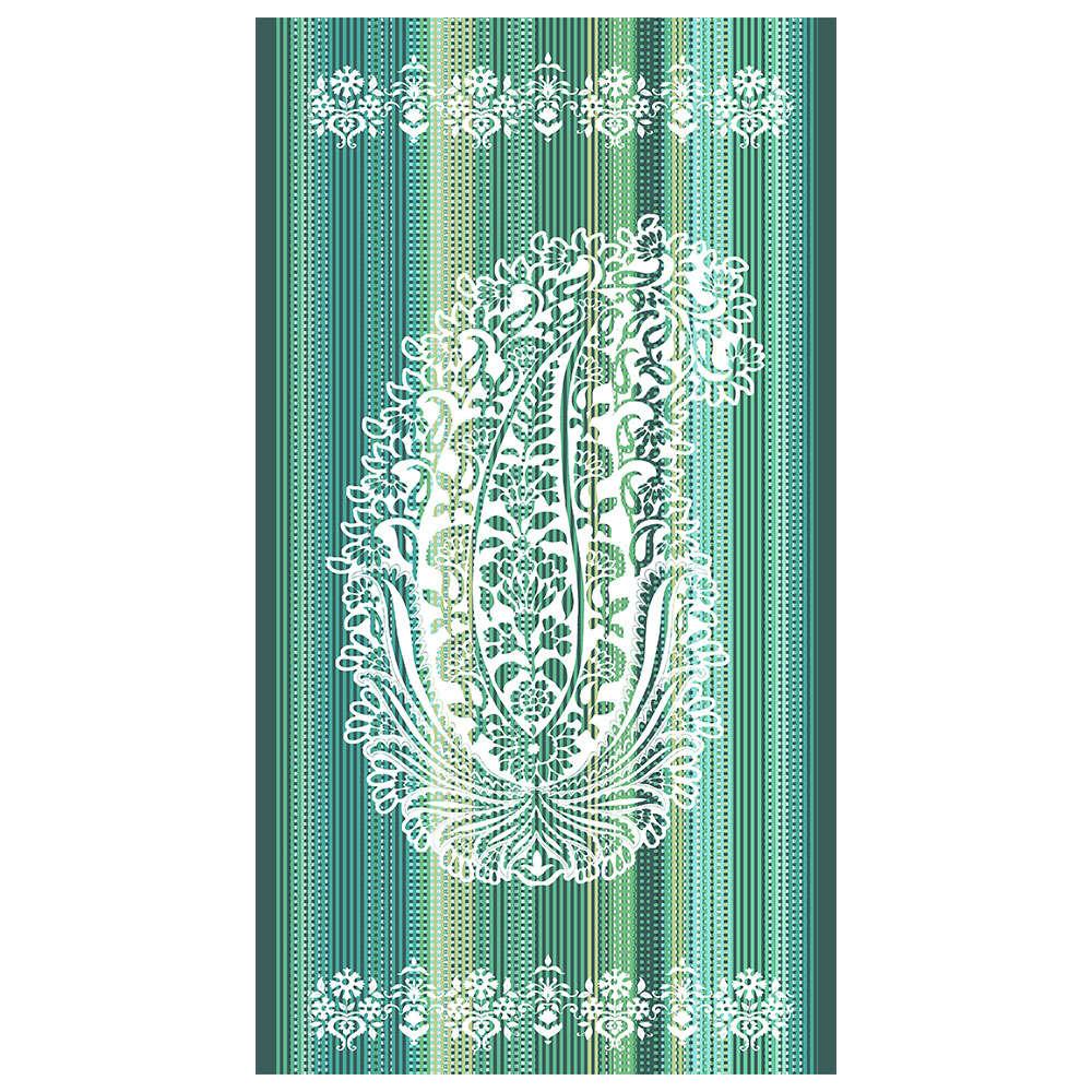 Πετσέτα Θαλάσσης Mocenigo Z1 Green Bassetti Θαλάσσης 90x180cm