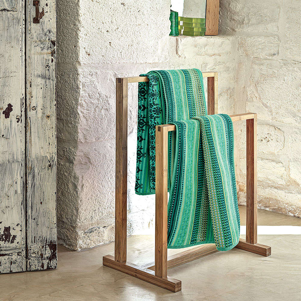 Πετσέτα Mocenigo Z1 Green Bassetti Χεριών 40x60cm
