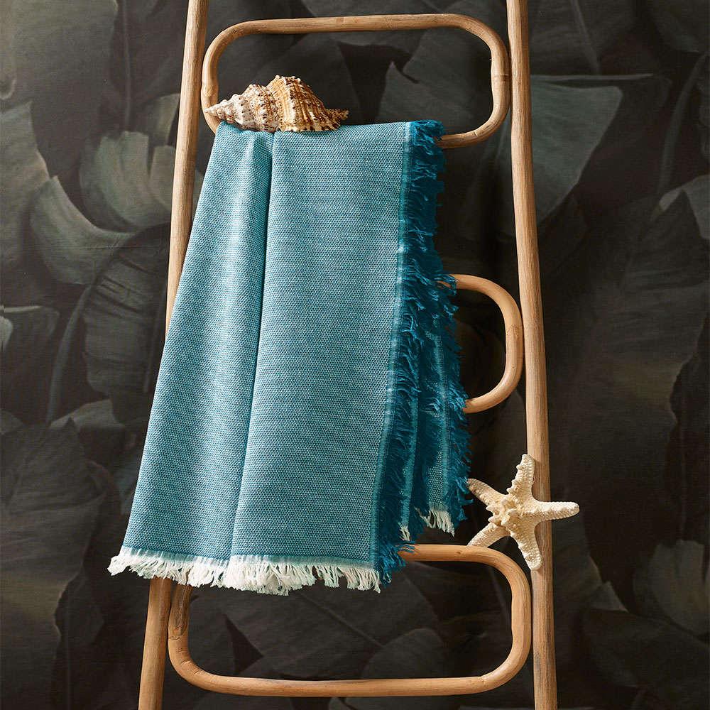 Πετσέτα Θαλάσσης – Παρεό Neptune T1 Turqoise Zucchi Θαλάσσης 90x170cm