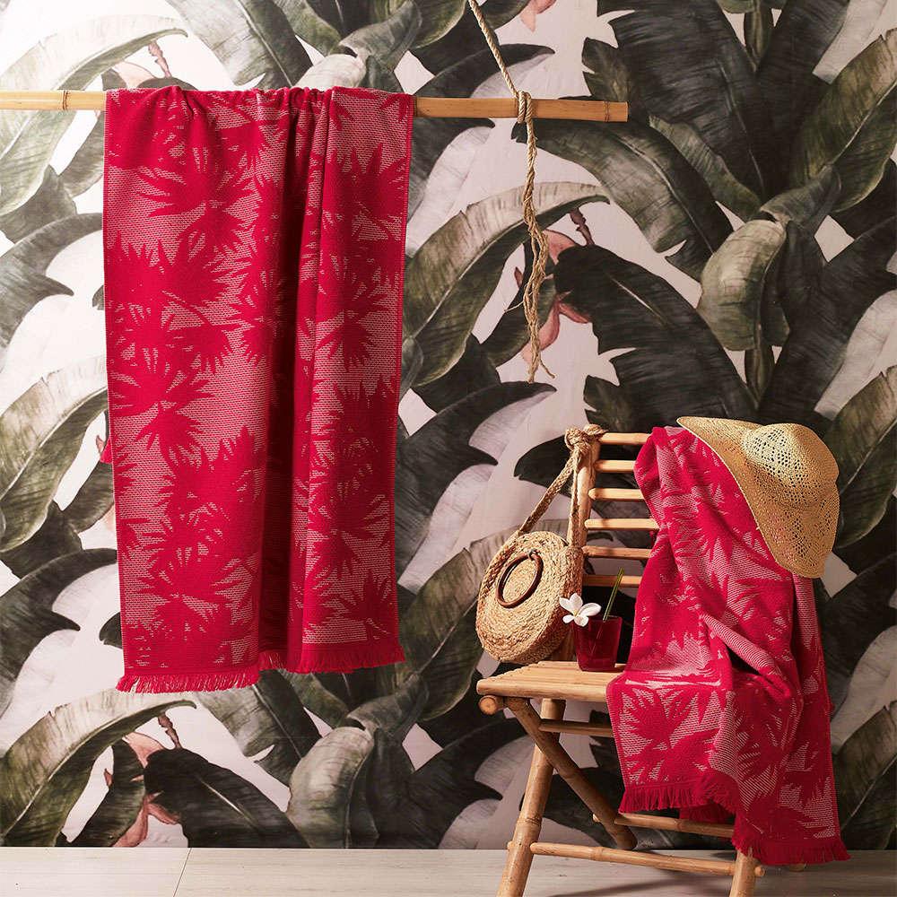 Πετσέτα Θαλάσσης Susut R1 Red Zucchi Θαλάσσης 80x170cm