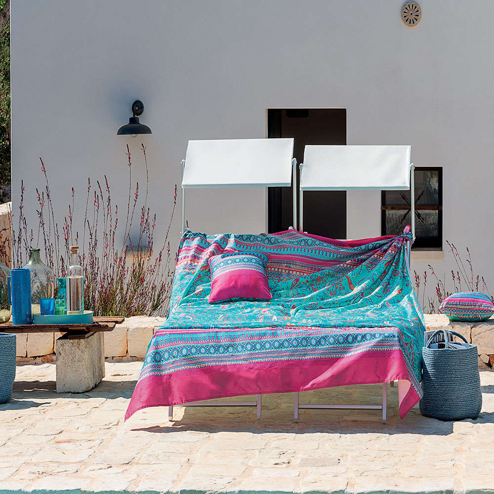 Σεντόνια Σετ 4τμχ Burano S1 Ciel-Pink Bassetti King Size 240x280cm