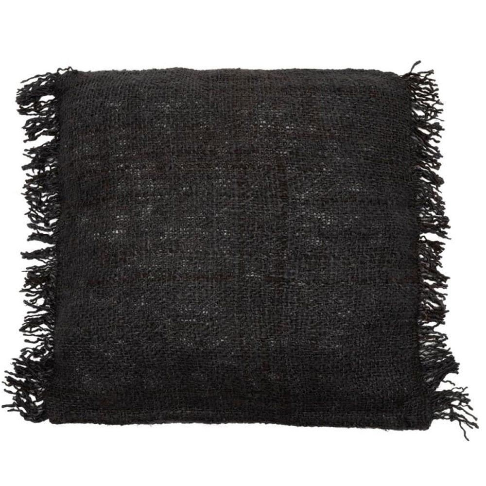 Διακοσμητική Μαξιλαροθήκη Oh My Gee INIE001BNa Black Navy Bazar Bizar 40Χ40 100% Βαμβάκι