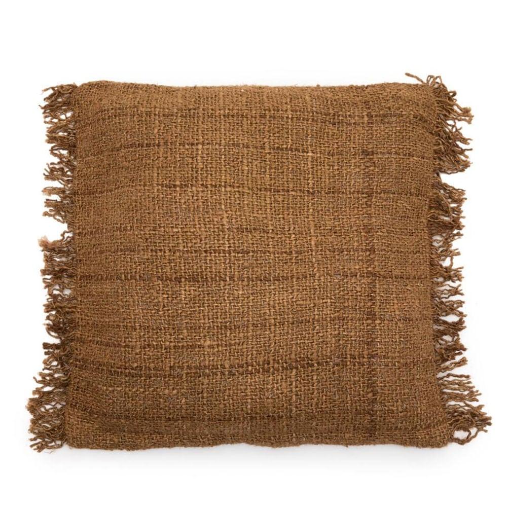 Διακοσμητική Μαξιλαροθήκη Oh My Gee INIE001Br Brown Bazar Bizar 60X60 100% Βαμβάκι