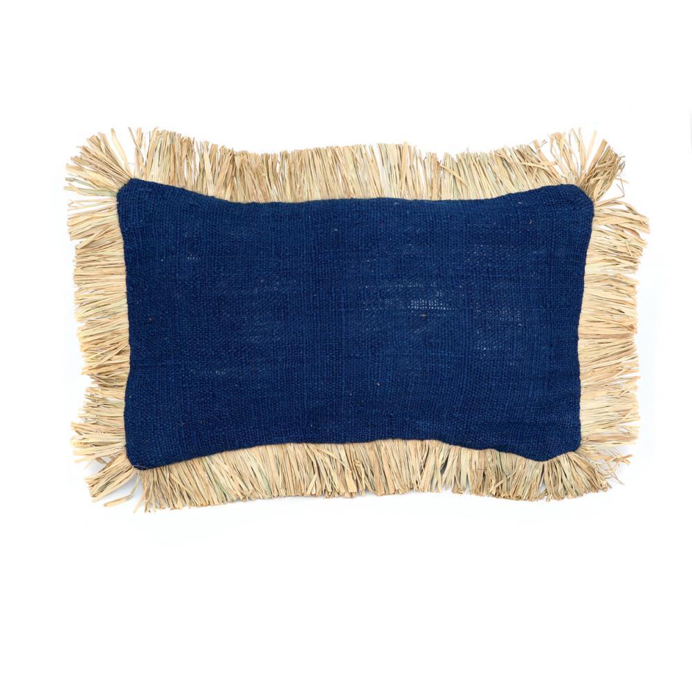 Διακοσμητική Μαξιλαροθήκη Saint Tropez Rectangular JABR025BlueN Blue-Natural Bazar Bizar 30Χ50 100% Βαμβάκι