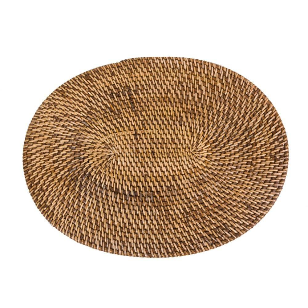 Σουπλά Colonial Oval BAGE003NBr Natural-Brown Bazar Bizar