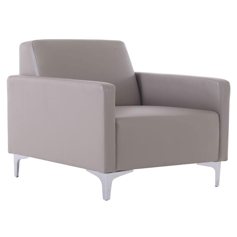 Πολυθρόνα Style Ε948,14 K/D Pu Sand-Grey 64x71x72 cm