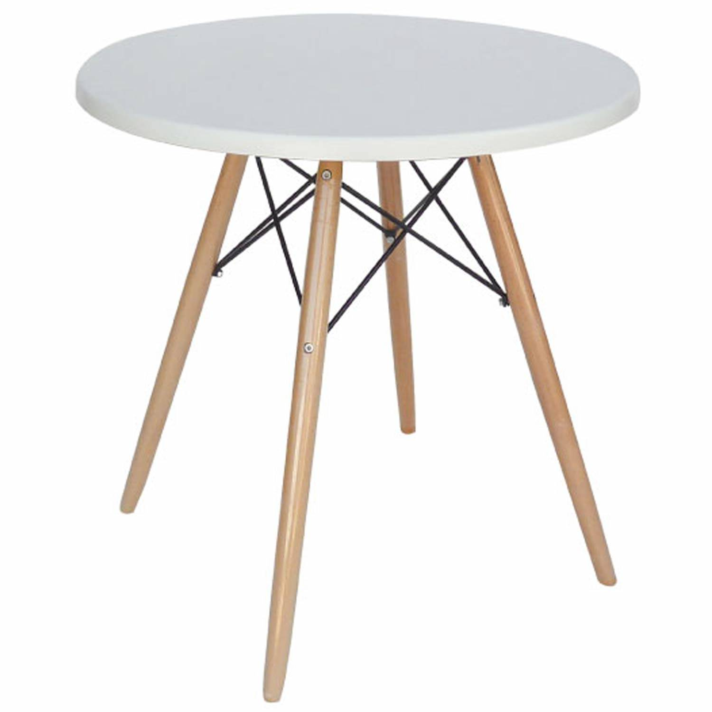 Τραπέζι Randy Werzalit White 08-0012 Φ70cm