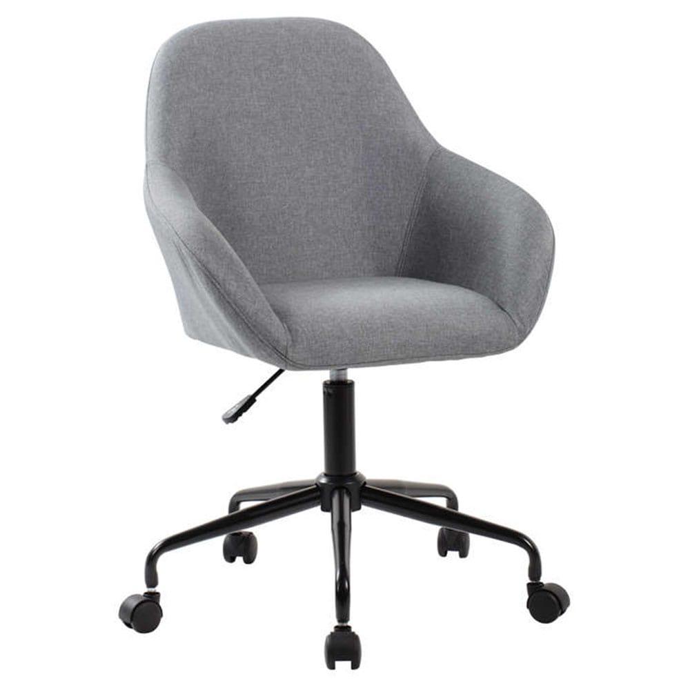 Καρέκλα Γραφείου Design Black-Grey 60×58,5×86/95,5cm 25-0456