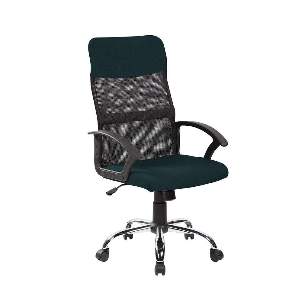 Πολυθρόνα Γραφείου Κυπαρισσι Black 57×58,5×107,5/117,5cm 25-0454