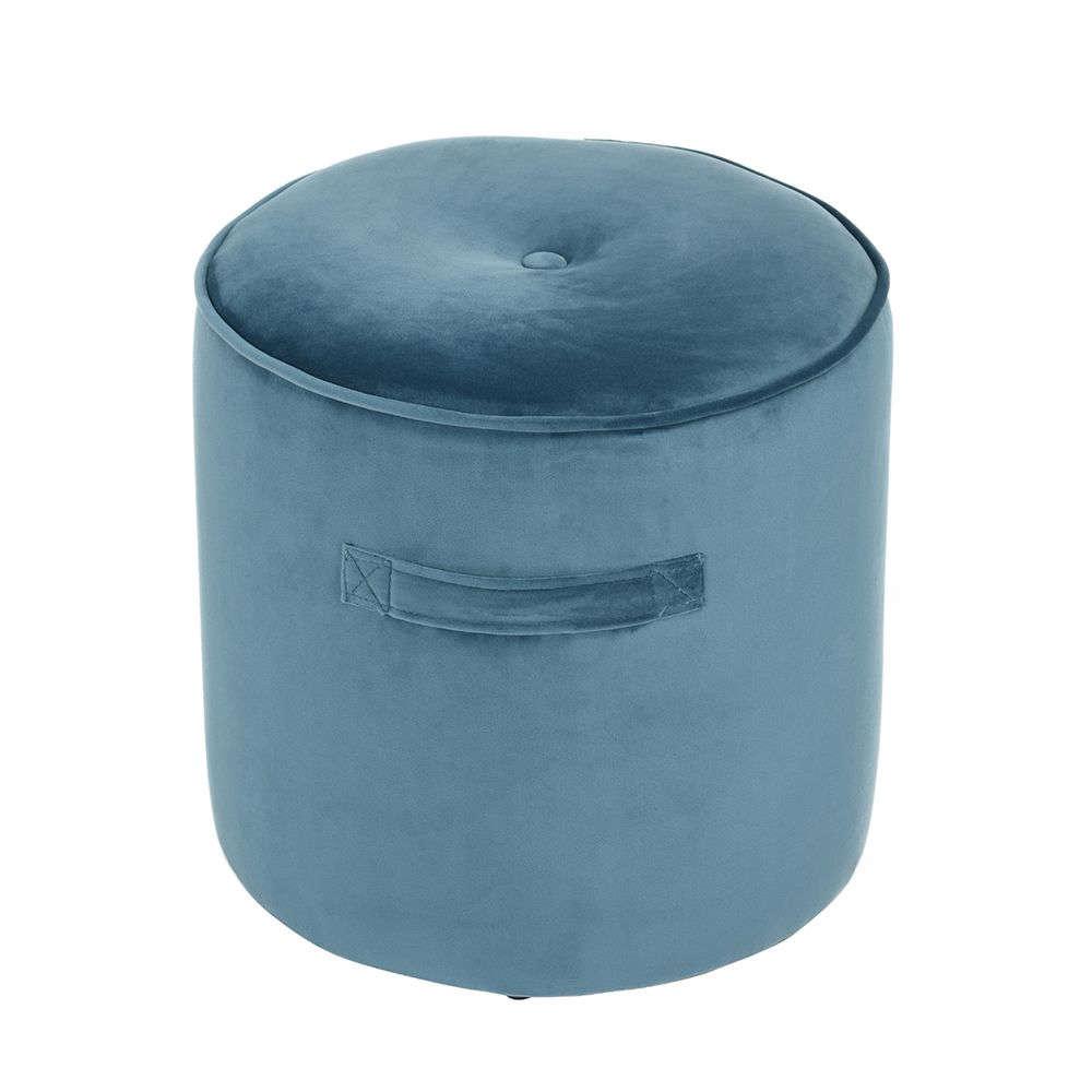 Σκαμπό Nomads Blue D38x38cm 16-0251