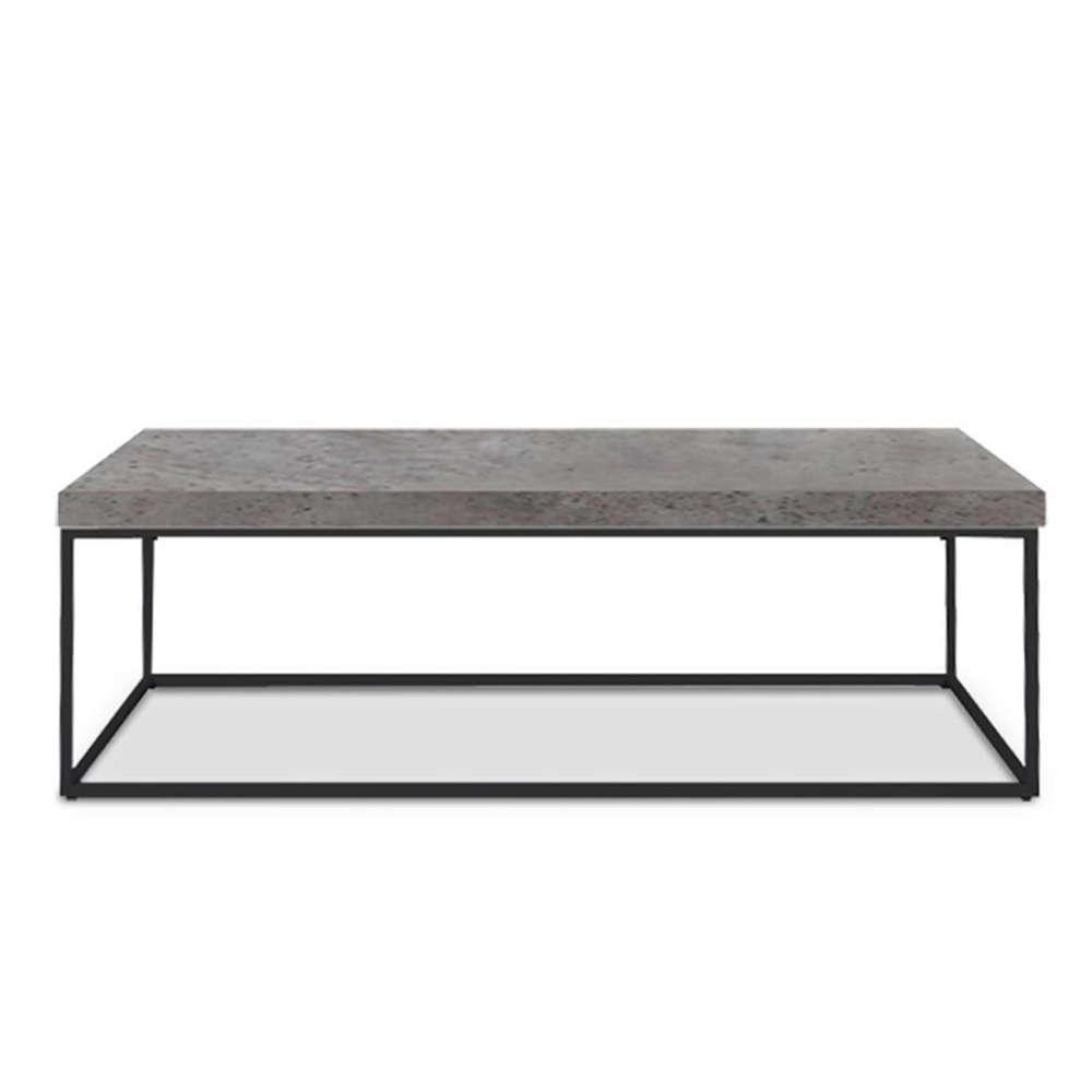 Τραπεζάκι Edra Brown Cement-Black 119x59x40cm 04-0275