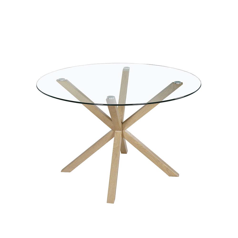 Τραπέζι All Day Sonoma-Clear D120x75cm 02-0326