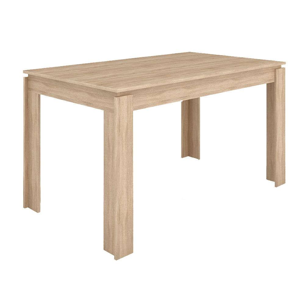 Τραπέζι Sorisso 1 Sonoma Dark 137x85x76cm 02-0173