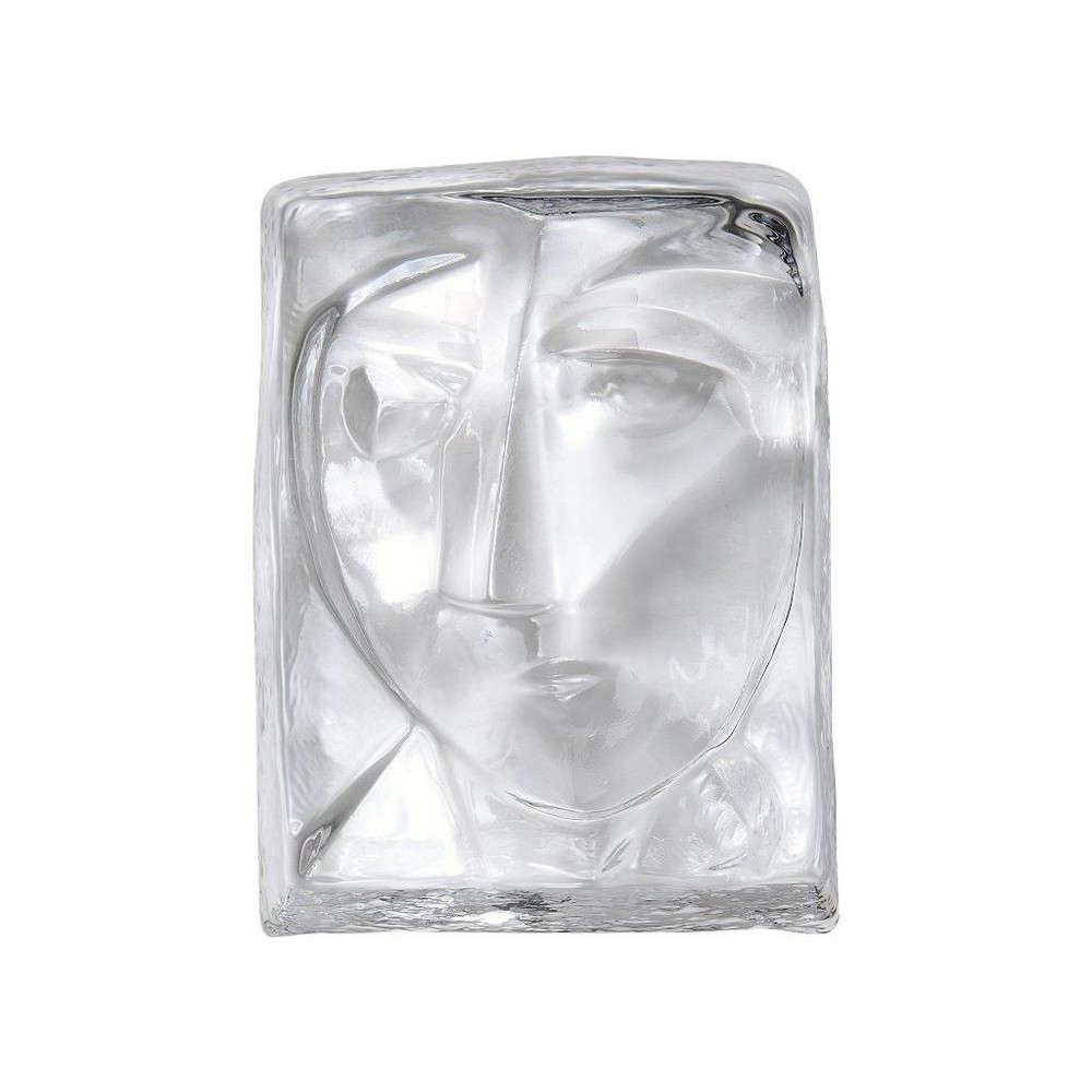 Διακοσμητικά Πρόσωπα ICE206 Διάφανο 12x9x4cm Espiel Γυαλί