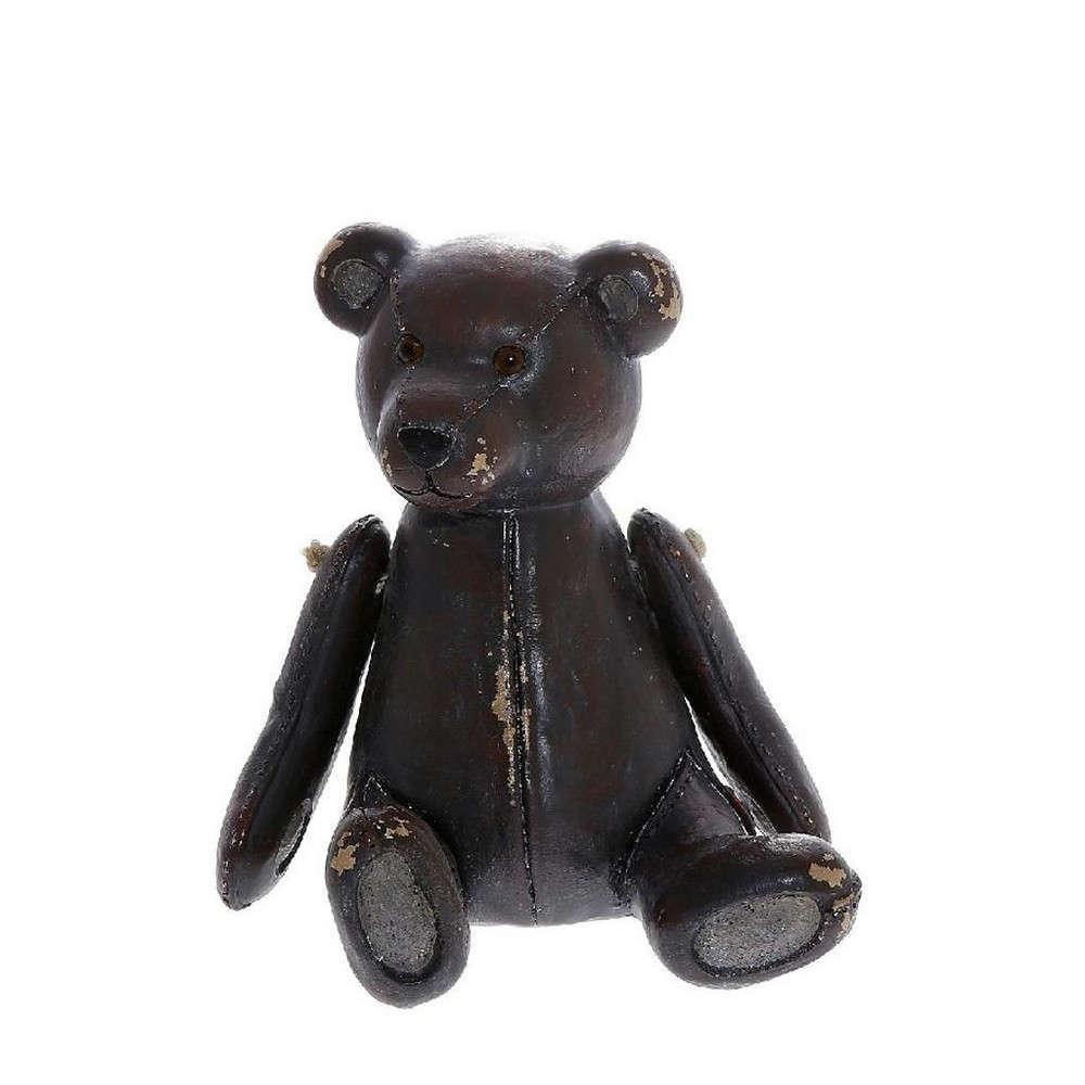 Διακοσμητικό Αρκουδάκι PAP115 Καφέ 7x8x10cm Espiel Τεχνόδερμα