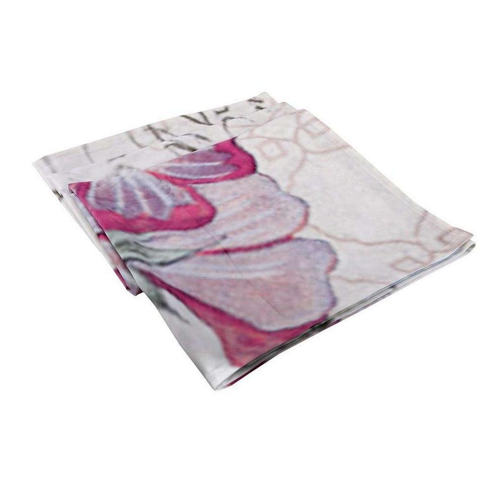 Τραπεζομάντηλο Πεταλούδες HEM232 Φούξια Espiel 120X120