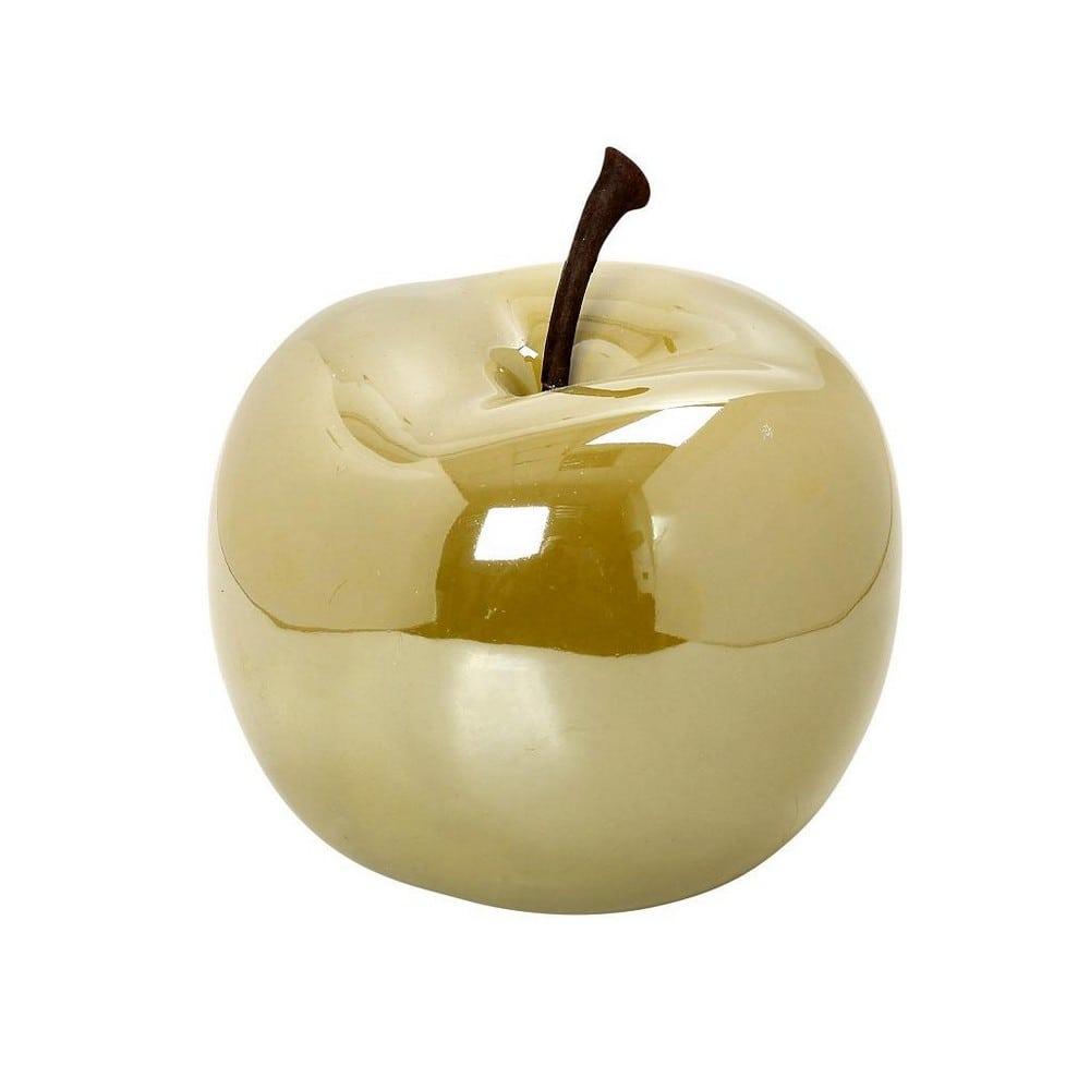 Διακοσμητικό Μήλο Κεραμικό DOS101K6 8cm Green Espiel Κεραμικό