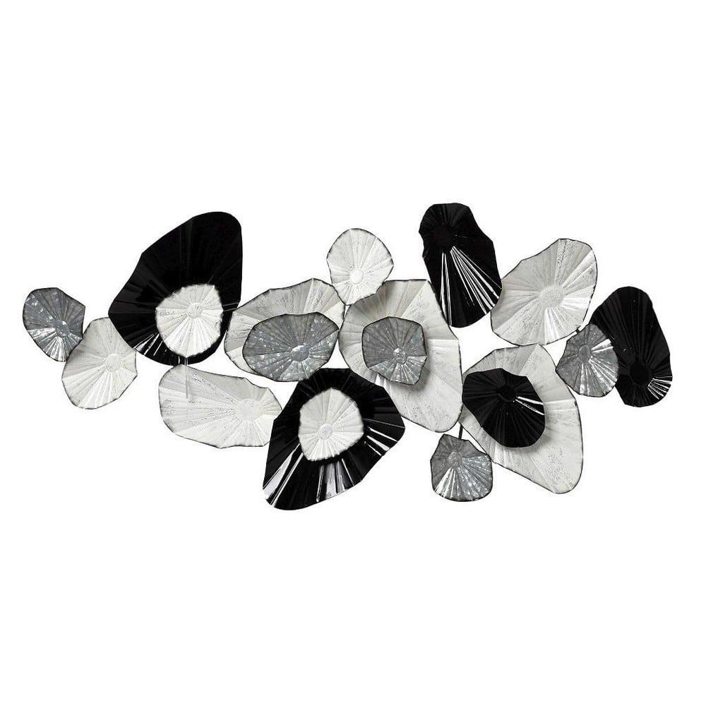 Διακοσμητικό Επιτοίχιο JEL310 133,4cm White-Black Espiel Μέταλλο