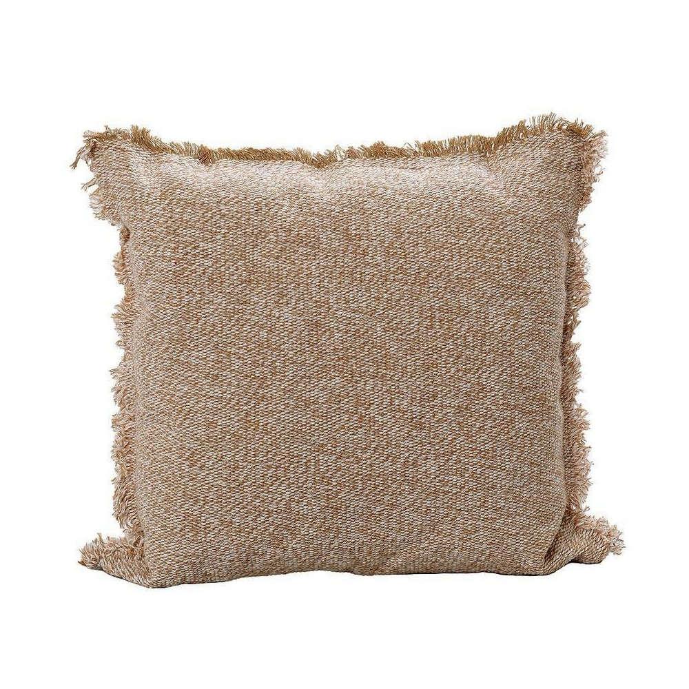 Μαξιλάρι Διακοσμητικό (Με Γέμιση) NEN202 Beige Espiel 40Χ40 Βαμβάκι-Polyester
