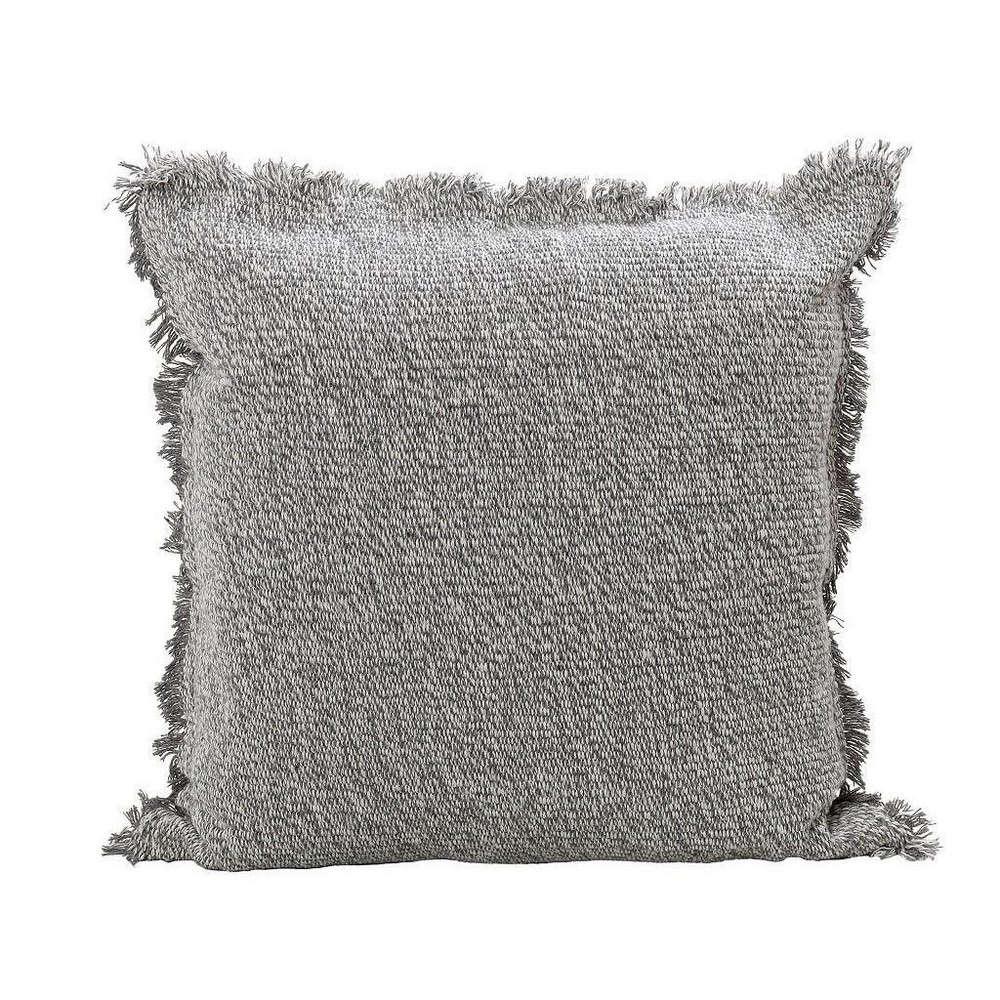 Μαξιλάρι Διακοσμητικό (Με Γέμιση) NEN203 Grey Espiel 40Χ40 Βαμβάκι-Polyester