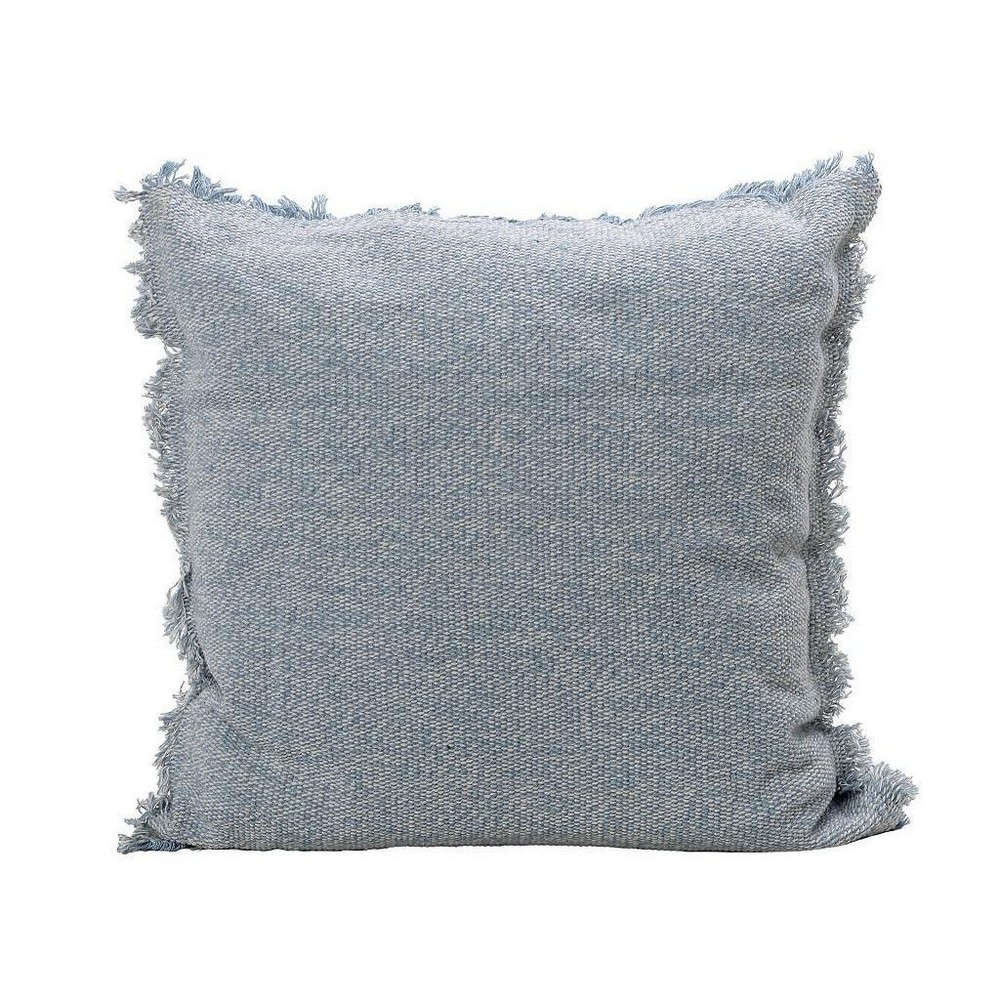 Μαξιλάρι Διακοσμητικό (Με Γέμιση) NEN204 Blue Espiel 40Χ40 Βαμβάκι-Polyester