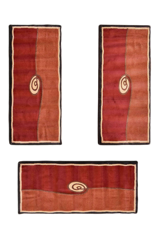 Σετ Κρεβατοκάμαρας 3Τμχ. M.Polo 974/1703 Red-Terra SET