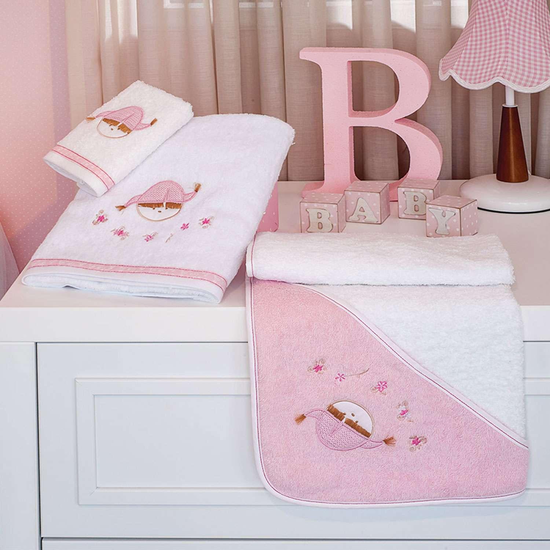 Πετσέτες Σετ 2τεμ. Des. 142 – Pink Booboo Pink Baby Oliver Σετ Πετσέτες