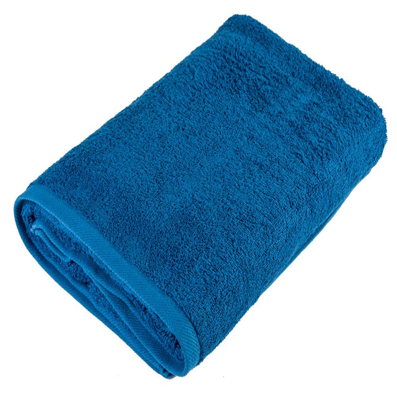 Πετσέτα Πισίνας Ξενοδοχείου Ανεξίτηλη Blue VAT 500gr 100% Cotton Σώματος 80x150cm