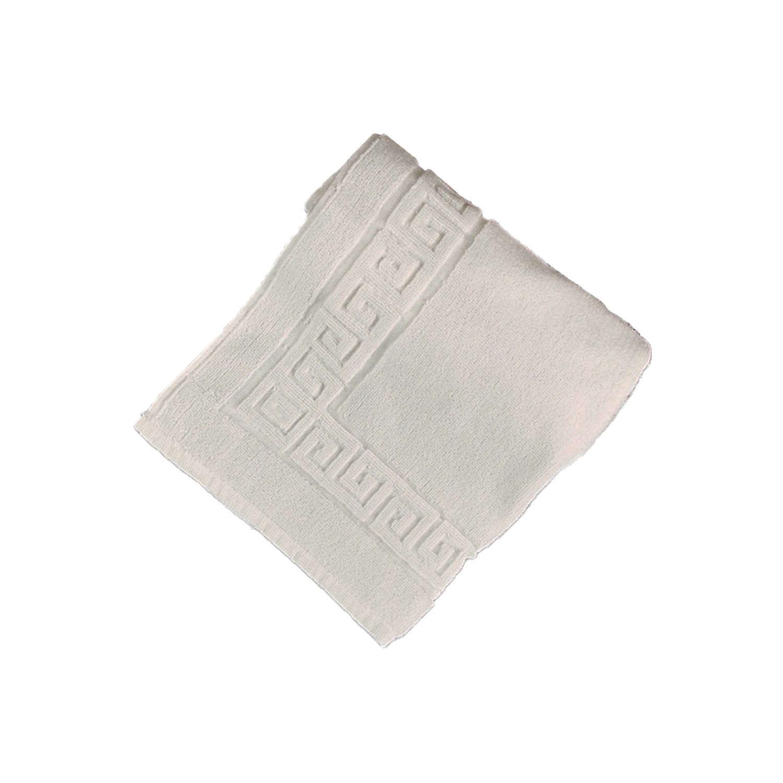 Πατάκι Ξενοδοχείου Μαίανδρος White 100% Cotton Medium 50x75cm