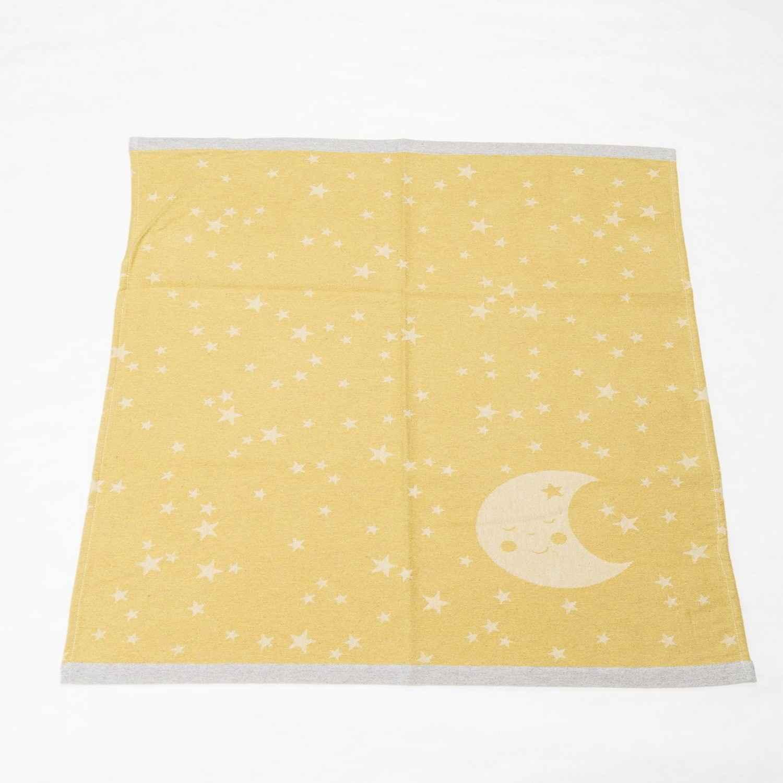 Κουβέρτα Βρεφική Df Ida 2814/55 Yellow Vesta ΑΓΚΑΛΙΑΣ 70x90cm