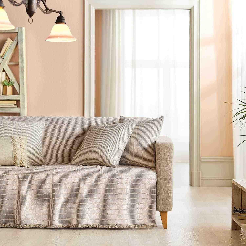 Ριχτάρι Solitaire 476/06 Beige Gofis Home Διθέσιο 180x250cm