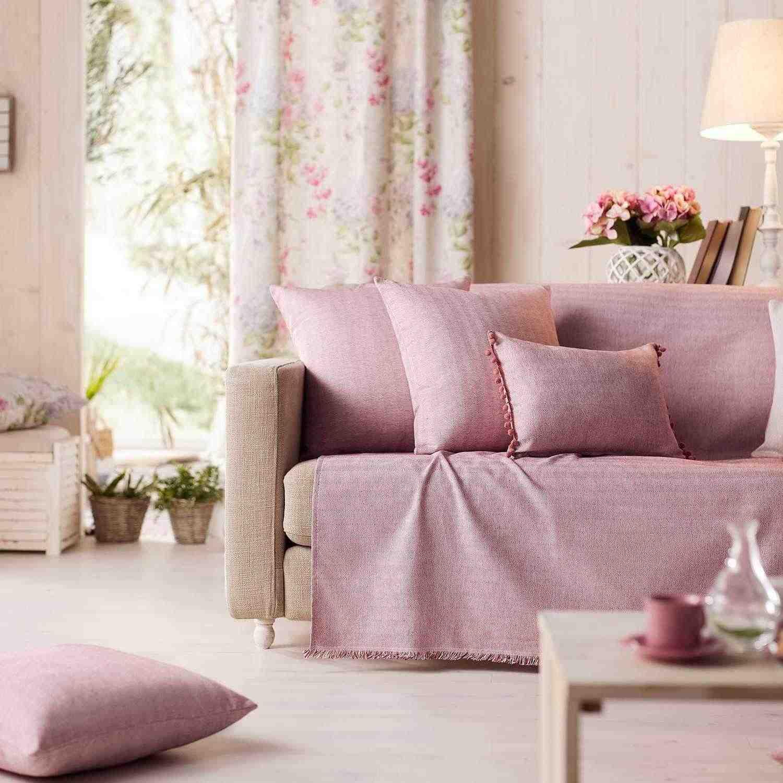 Ριχτάρι Rene 732/17 Pink Gofis Home Πολυθρόνα 180x180cm