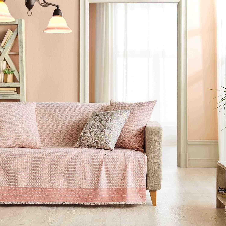 Ριχτάρι Sunday 781/03 Pink Gofis Home Διθέσιο 180x250cm