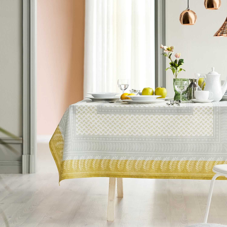 Τραπεζομάντηλο Anemie 529 White-Grey Gofis Home 150X200