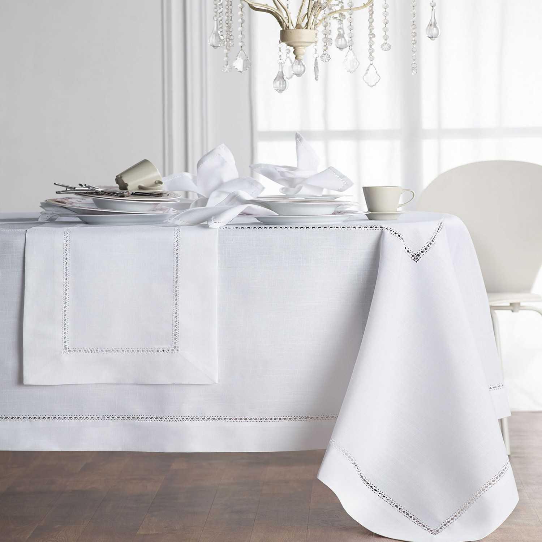 Τραπεζομάντηλο Φαγητού 80/16 White Gofis Home 150Χ300