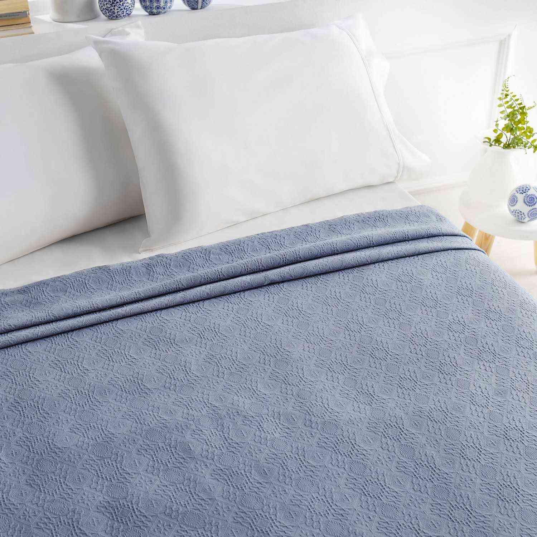 Πικέ Κουβέρτα 284/1 Blue Raf Gofis Home Μονό 160x220cm
