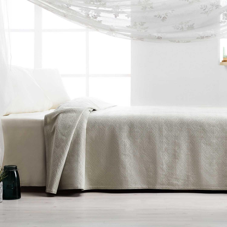 Πικέ Κουβέρτα 284/18 Mint Gofis Home Υπέρδιπλo 230x240cm