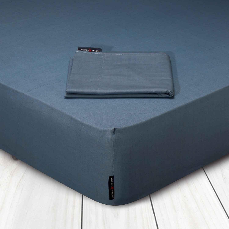 Σεντόνι Με Λάστιχο 2206 Blue Raf G.P.C. Υπέρδιπλo 160x200cm