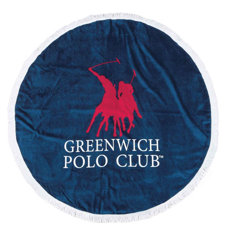 Πετσέτα Θαλάσσης Στρόγγυλη 2824 Blue G.P.C. Θαλάσσης Φ160