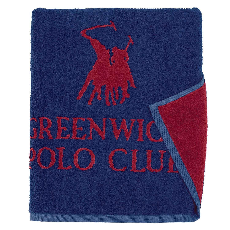 Πετσέτα 2518 Blue-Red G.P.C. Χεριών 30x50cm