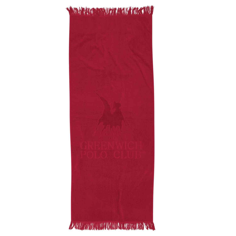 Πετσέτα Θαλάσσης – Παρεό. 2809 Red G.P.C. Θαλάσσης 70x170cm