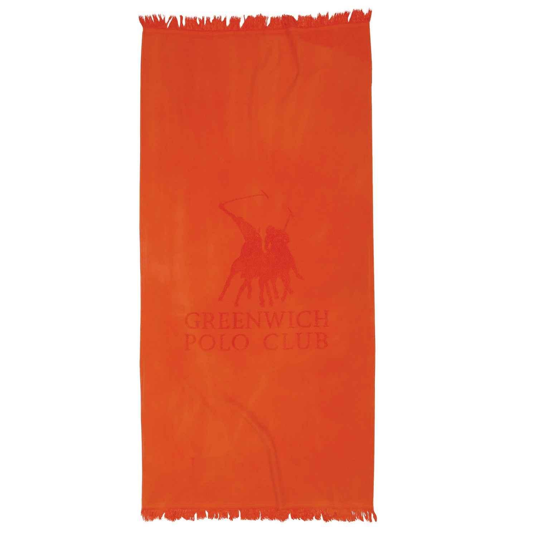 Πετσέτα Θαλάσσης – Παρεό 2827 Orange G.P.C. Θαλάσσης 80x170cm
