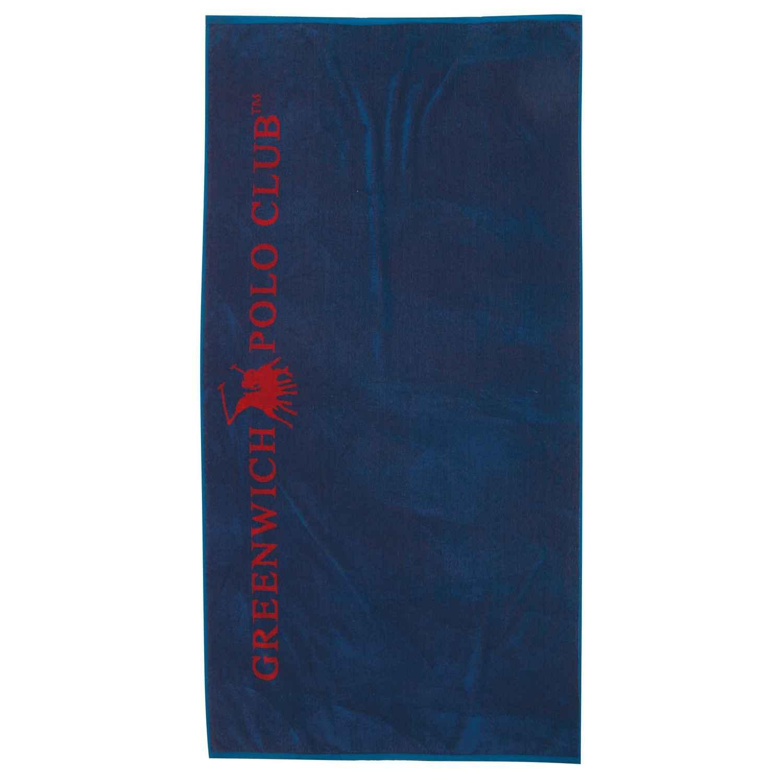 Πετσέτα Θαλάσσης 2804 Blue-Red G.P.C. Θαλάσσης 90x170cm